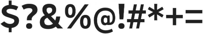 Ultraproxi SemiBold otf (600) Font OTHER CHARS