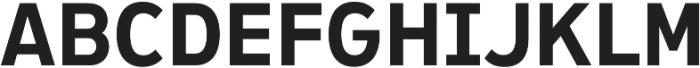 Ultraproxi SemiBold otf (600) Font UPPERCASE