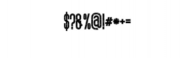 Ultimatum Font Font OTHER CHARS