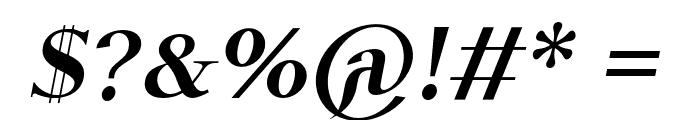 Ulfilas-FettKursiv Font OTHER CHARS