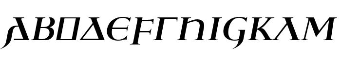 Ulfilas-FettKursiv Font UPPERCASE