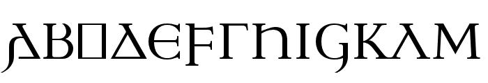 Ulfilas Font UPPERCASE