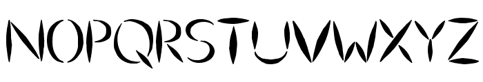 Ulse Freehand Font UPPERCASE