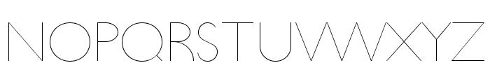 UltimaPDaa-Hairline Font UPPERCASE