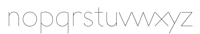 UltimaPDaa-Hairline Font LOWERCASE