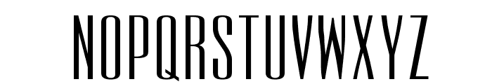 UltraCondensedSansSerif Font UPPERCASE