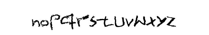 Ultramat Font LOWERCASE