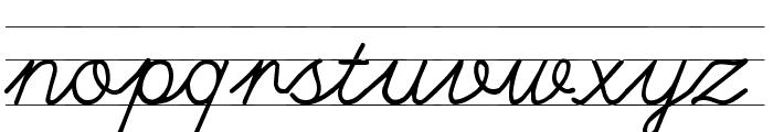 UlusalOkul.Com ?izgili Font LOWERCASE