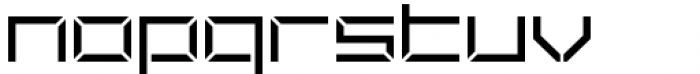 Ulga Grid Regular Font LOWERCASE