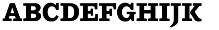 Ulises Extra Bold Font UPPERCASE