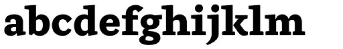Ulises Extra Bold Font LOWERCASE