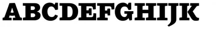 Ulises Heavy Font UPPERCASE