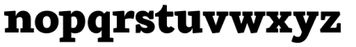 Ulises Heavy Font LOWERCASE