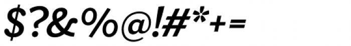 Ulises Semi Bold Italic Font OTHER CHARS