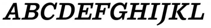 Ulises Semi Bold Italic Font UPPERCASE