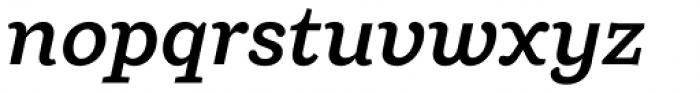 Ulises Semi Bold Italic Font LOWERCASE