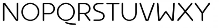 Ultima Alt Light Font UPPERCASE