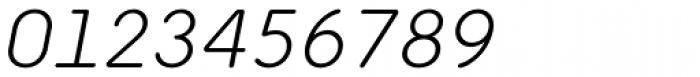 Ultima Pro Light Italic Font OTHER CHARS