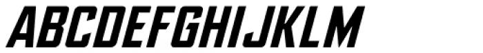 Ultimatum Bold Italic Font UPPERCASE