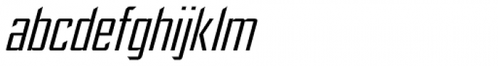 Ultimatum Light Italic Font LOWERCASE