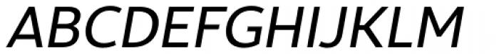 Ultine Cond Medium Italic Font UPPERCASE