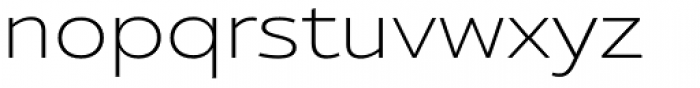 Ultine Ext Light Font LOWERCASE