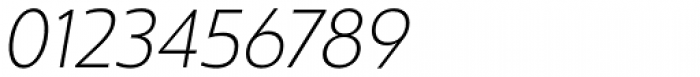 Ultine Norm Light Italic Font OTHER CHARS