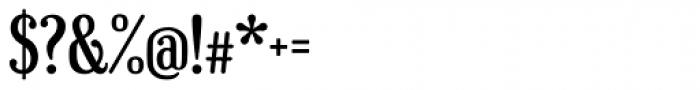 Ultramarina Font OTHER CHARS