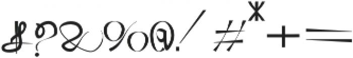 UMBRELLA otf (400) Font OTHER CHARS