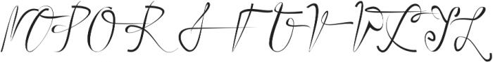 UMBRELLA otf (400) Font UPPERCASE