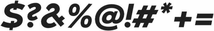 Umba Sans Alt Bold Italic otf (700) Font OTHER CHARS