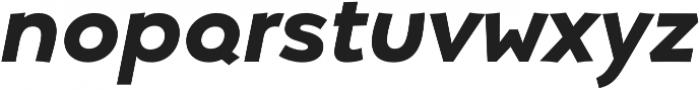 Umba Sans Alt Bold Italic otf (700) Font LOWERCASE