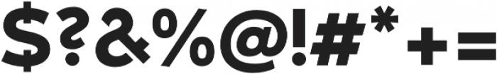 Umba Sans Alt Bold otf (700) Font OTHER CHARS