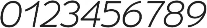 Umba Sans Alt Light Italic otf (300) Font OTHER CHARS