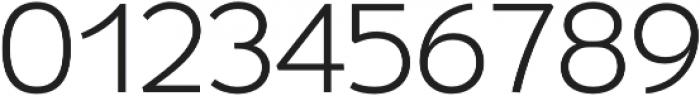 Umba Sans Alt Light otf (300) Font OTHER CHARS