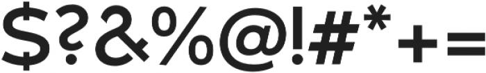 Umba Sans Alt Medium otf (500) Font OTHER CHARS