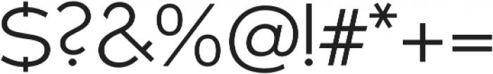 Umba Sans Light otf (300) Font OTHER CHARS