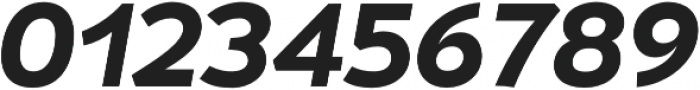 Umba Sans SC Bold Italic otf (700) Font OTHER CHARS