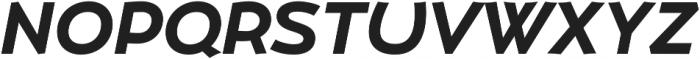 Umba Sans SC Bold Italic otf (700) Font UPPERCASE