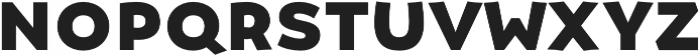 Umba Sans SC Bold otf (700) Font LOWERCASE