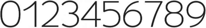 Umba Sans Thin otf (100) Font OTHER CHARS