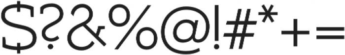 Umba Slab Alt Light otf (300) Font OTHER CHARS