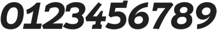 Umba Slab Caps Bold Italic otf (700) Font OTHER CHARS