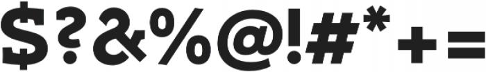 Umba Slab Caps Bold otf (700) Font OTHER CHARS