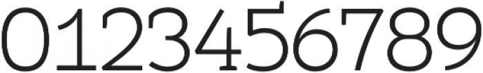Umba Slab Light otf (300) Font OTHER CHARS