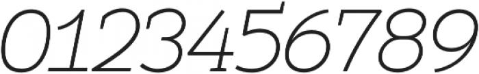 Umba Slab Thin Italic otf (100) Font OTHER CHARS