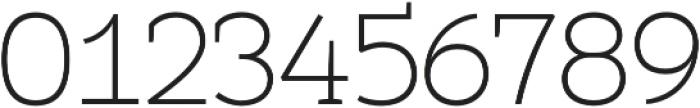 Umba Slab Thin otf (100) Font OTHER CHARS