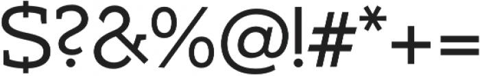 Umba Slab otf (400) Font OTHER CHARS