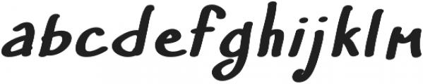 Umy otf (400) Font LOWERCASE