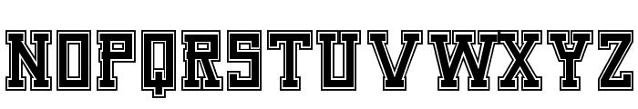 Umar Slab College Font UPPERCASE